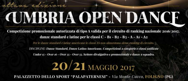 Fids Umbria Calendario Gare.Time Table E Elenco Iscritti Umbria Open Dance Danceranking