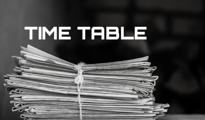 CAMPIONATO REGIONALE PIEMONTE | TIMETABLE