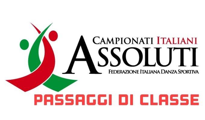 PASSAGGI DI CLASSE CAMPIONATI ITALIANI2018