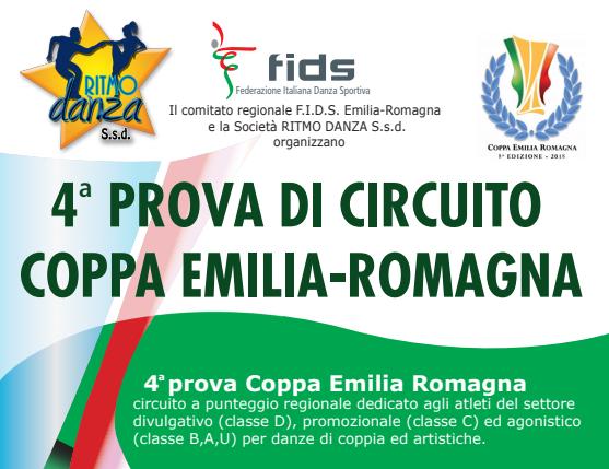 COPPA EMILIA 4 PROVA | ISCRITTI E TIMETABLE