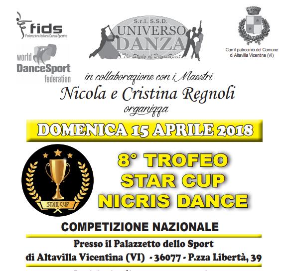 STAR CUP NICRIS DANCE |ISCRITTI