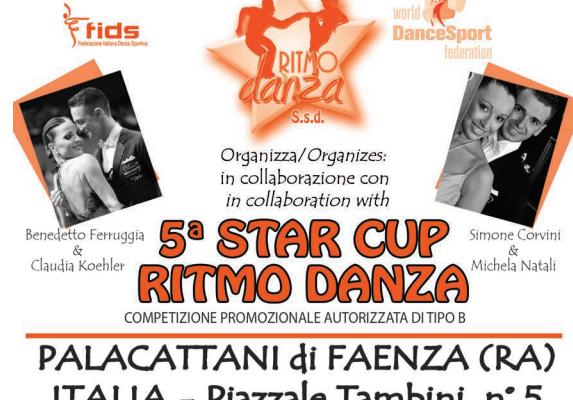 STARCUP RITMO DANZA |ISCRITTI