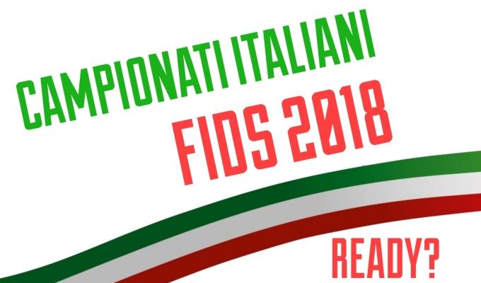 CAMPIONATI ITALIANI FIDS 2018 |READY?